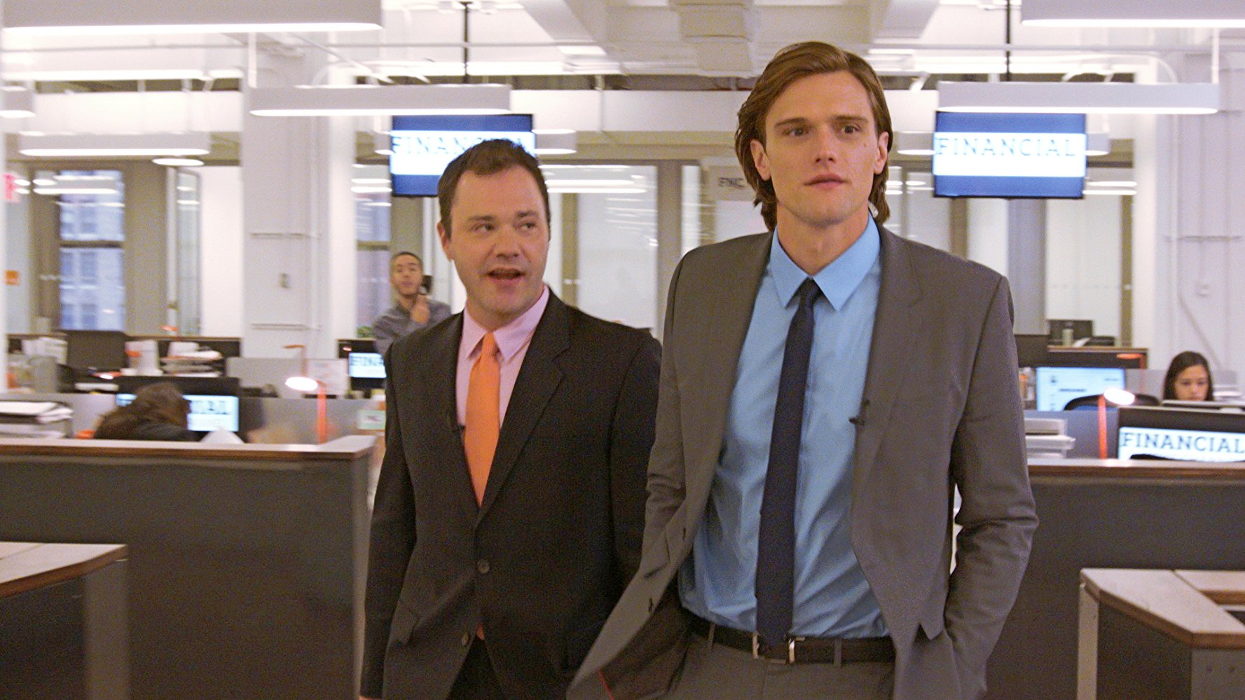 Wilson Cleveland and Hartley Sawyer in SPiN (2015).