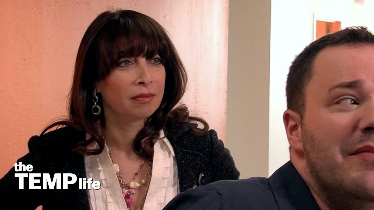 Illeana Douglas and Wilson Cleveland in The Temp Life