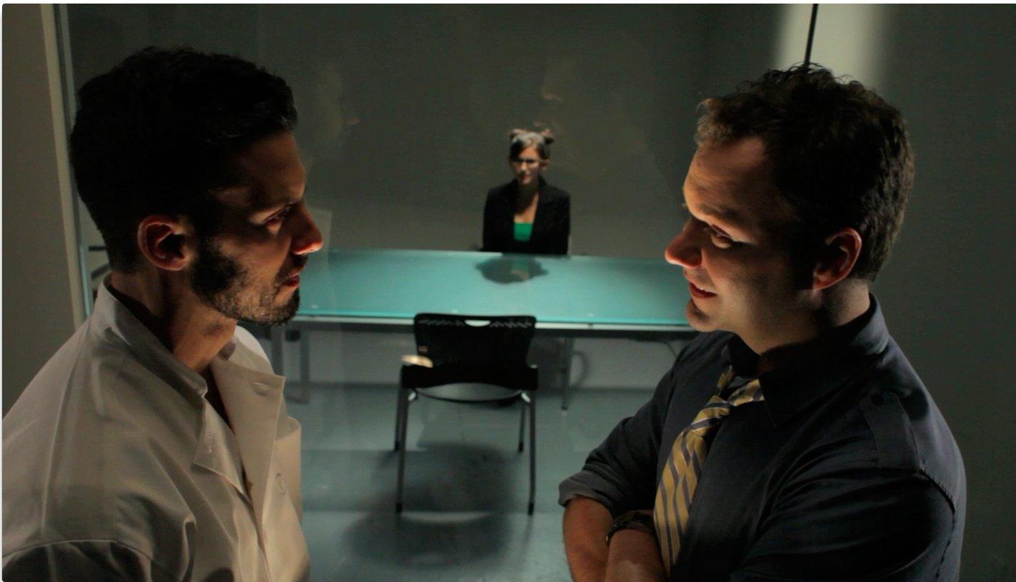 Milo Ventimiglia and Wilson Cleveland in Law & Lunch Order