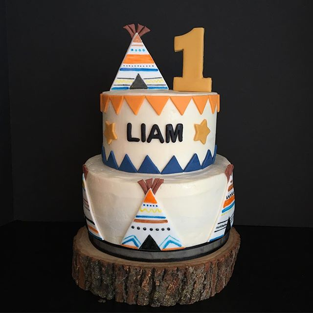Happy Birthday Liam! #roxiecakes #LiamWesleyYork