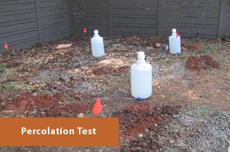 Georgia Percolation Test