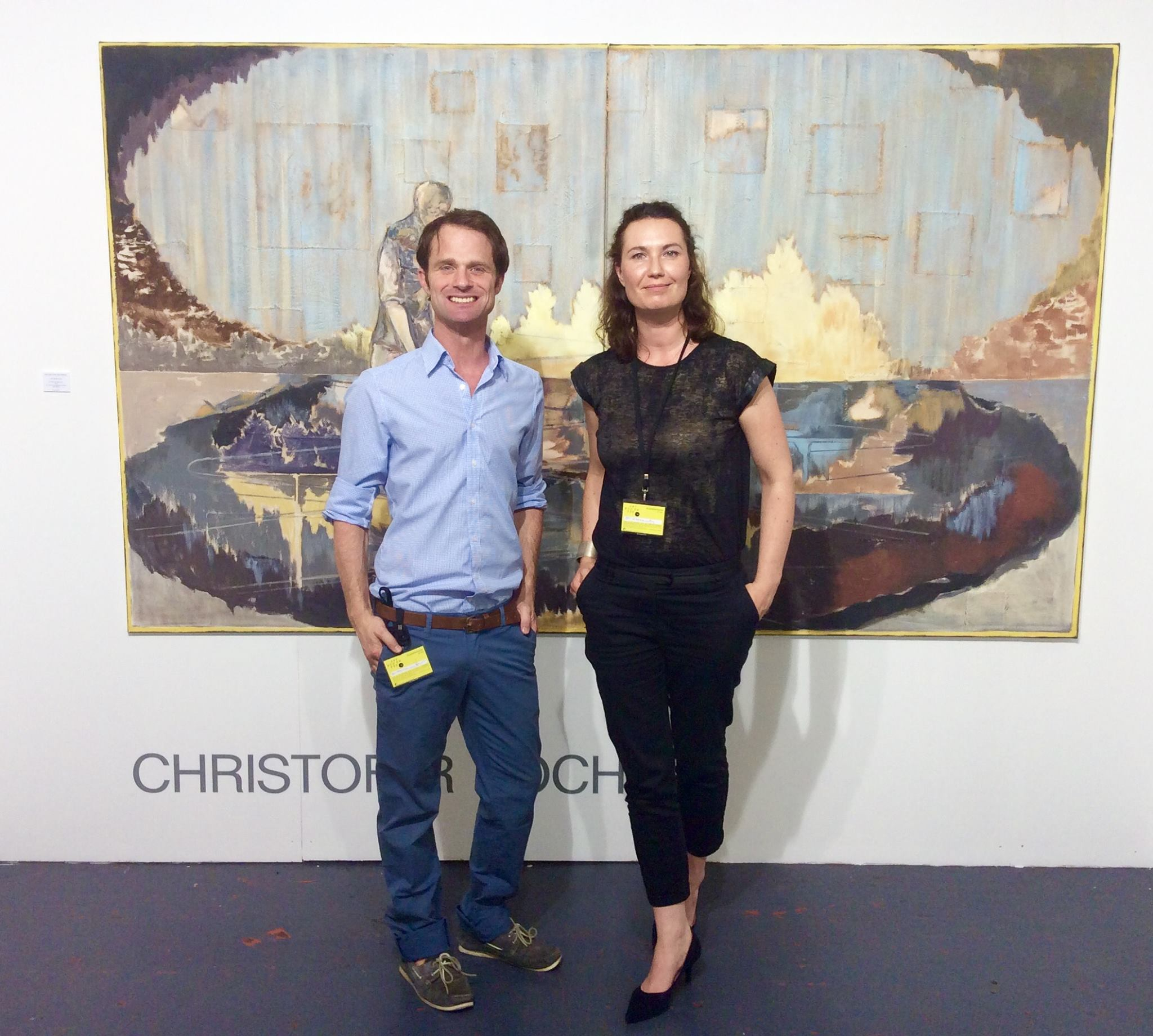Ein äußerst engagierter und lieber Galerist.Tristan Lorenz, von der Galerie Tristan Lorenz Frankfurt amMain. Eine super Galerie.