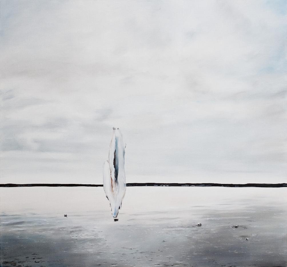 Thomas Riess, flying blur, 130 x 140 cm, Öl auf Leinwand