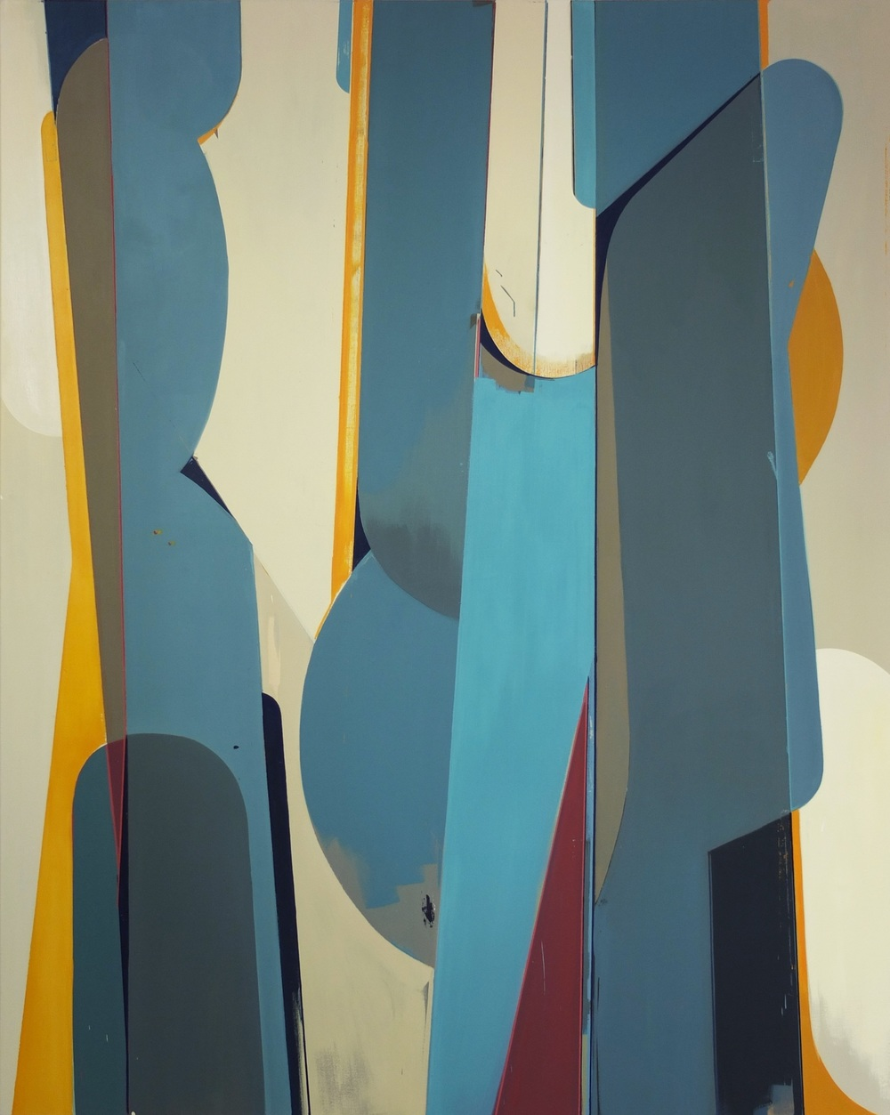 Sebastian Menzke rotom3,2015 Öl auf Leinwand 190x150cm
