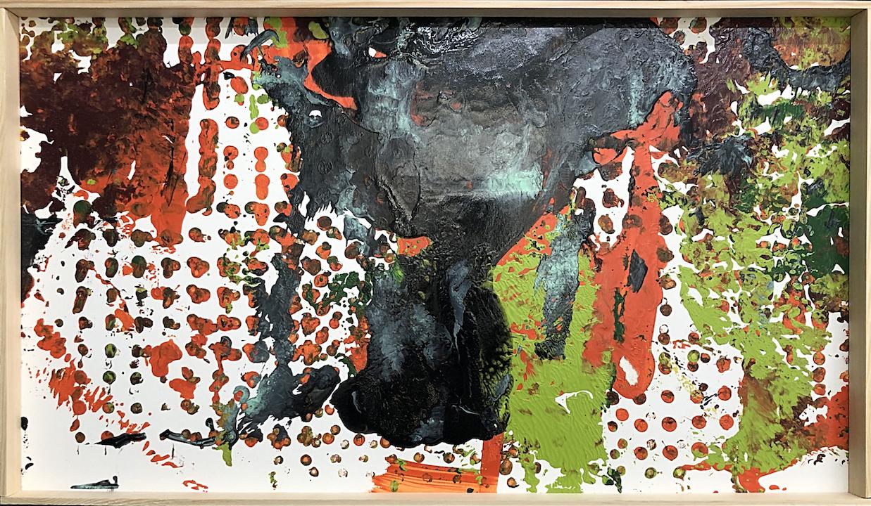 ohne Titelklein 59,5 x 34,5 cmWasserlack, 480 €