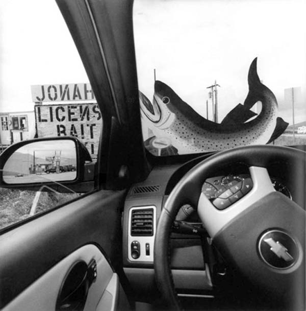 Colorado, 2007.   America by Car , by Lee Friedlander.