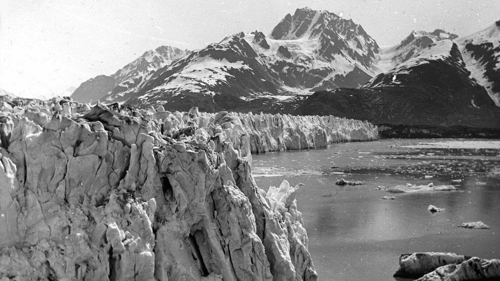 Muir Glacier & Inlet, 1895, Muir Inlet in Alaska's Glacier Bay National Park & Preserve.
