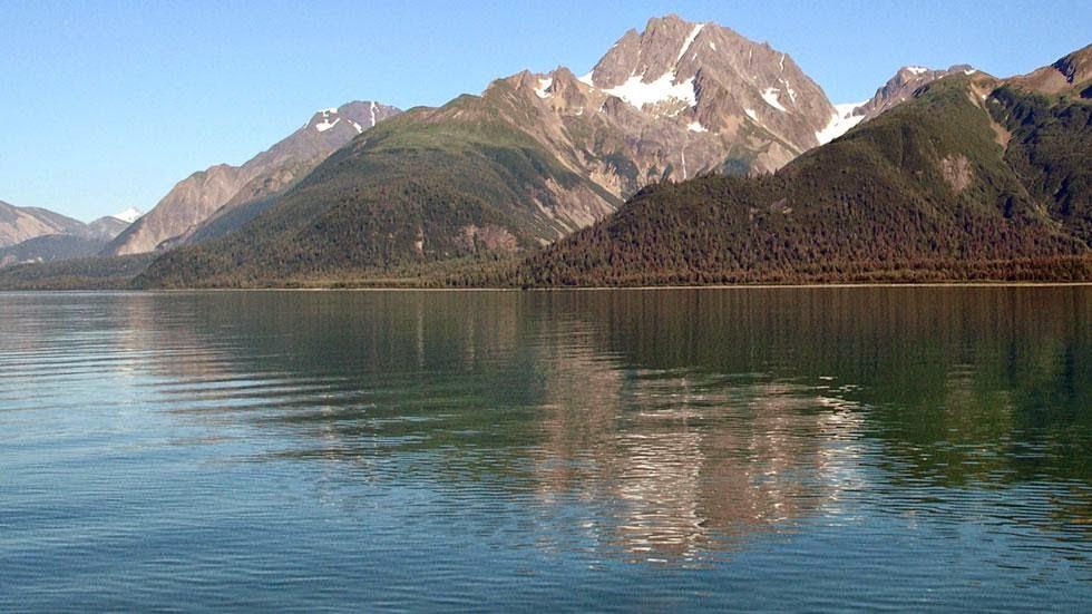 Muir Inlet, 2005, Potographed by Bruce Molnia, Muir Inlet in Alaska's Glacier Bay National Park & Preserve.