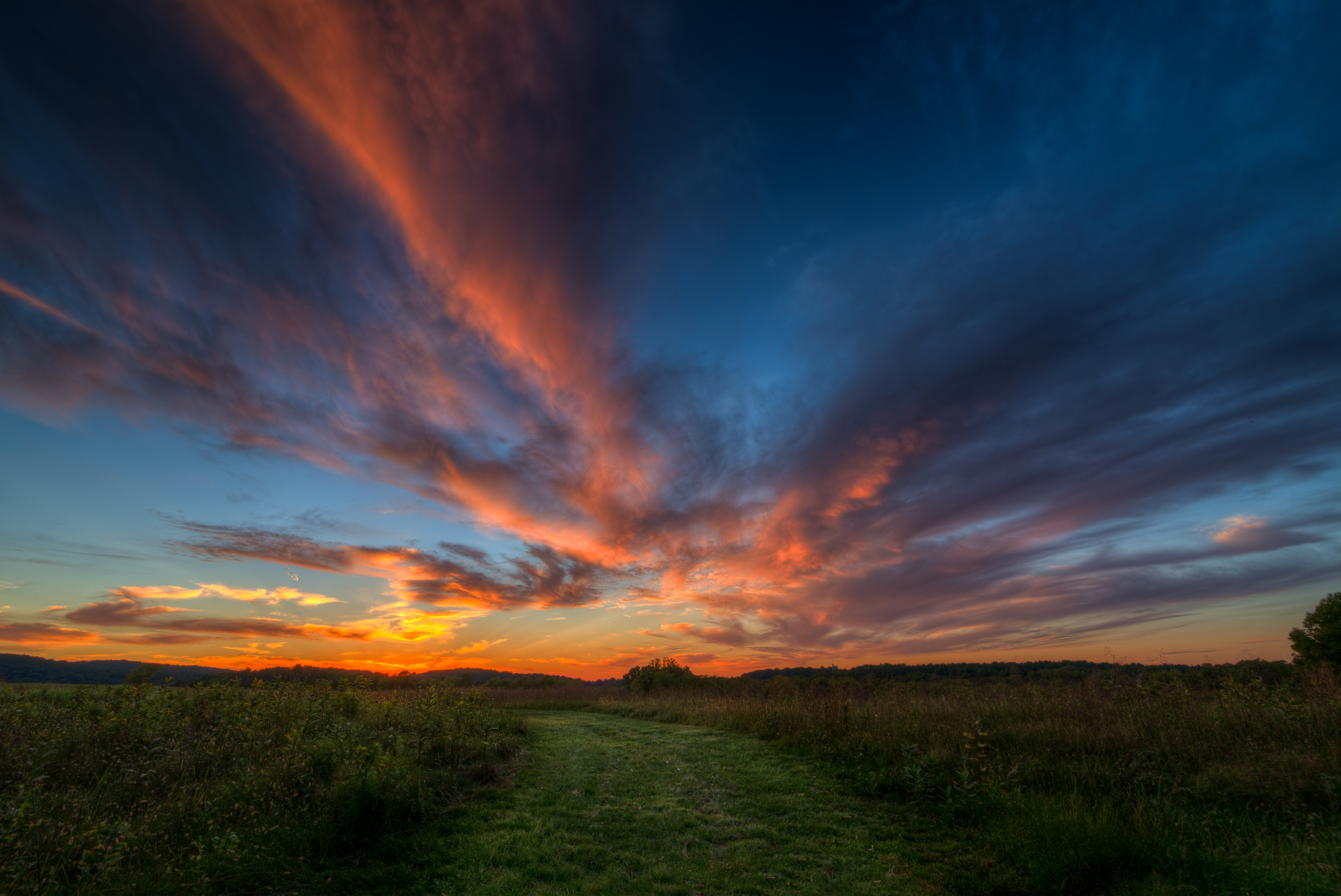 Sunset at Valley Forge 9-11-2012