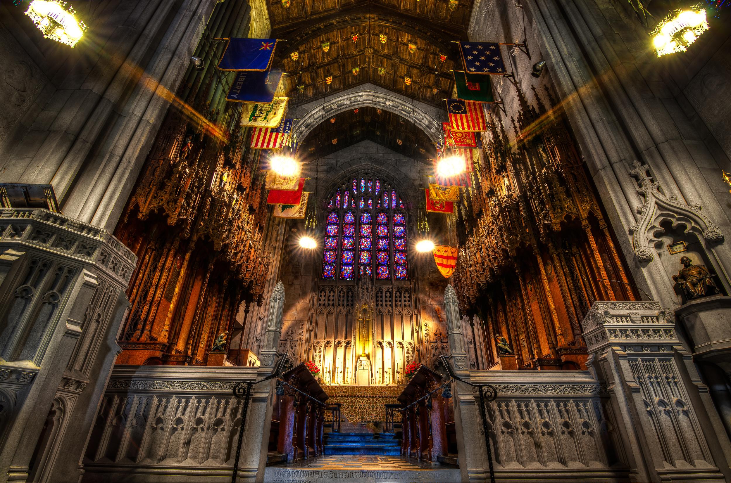 Inside the Washington Memorial Chapel