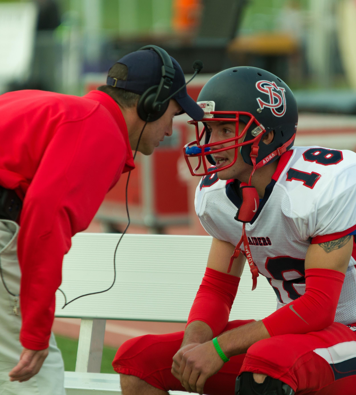 Coach and Quarterback