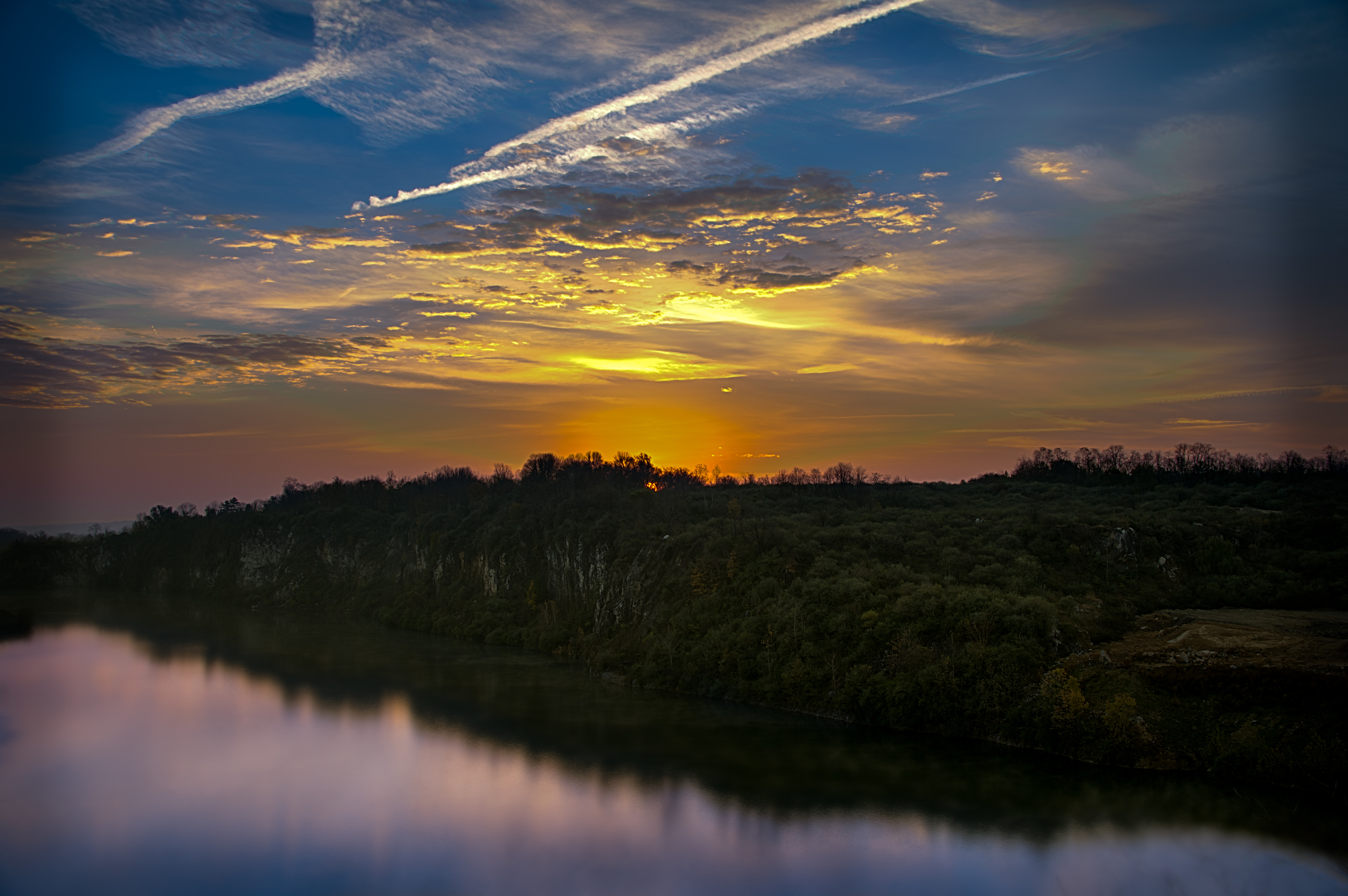 Sunrise at the Quarry