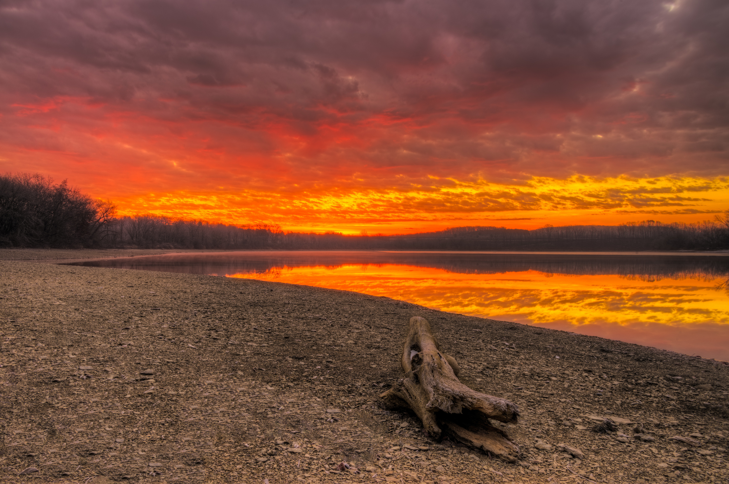 Dawn at Blue Marsh Lake