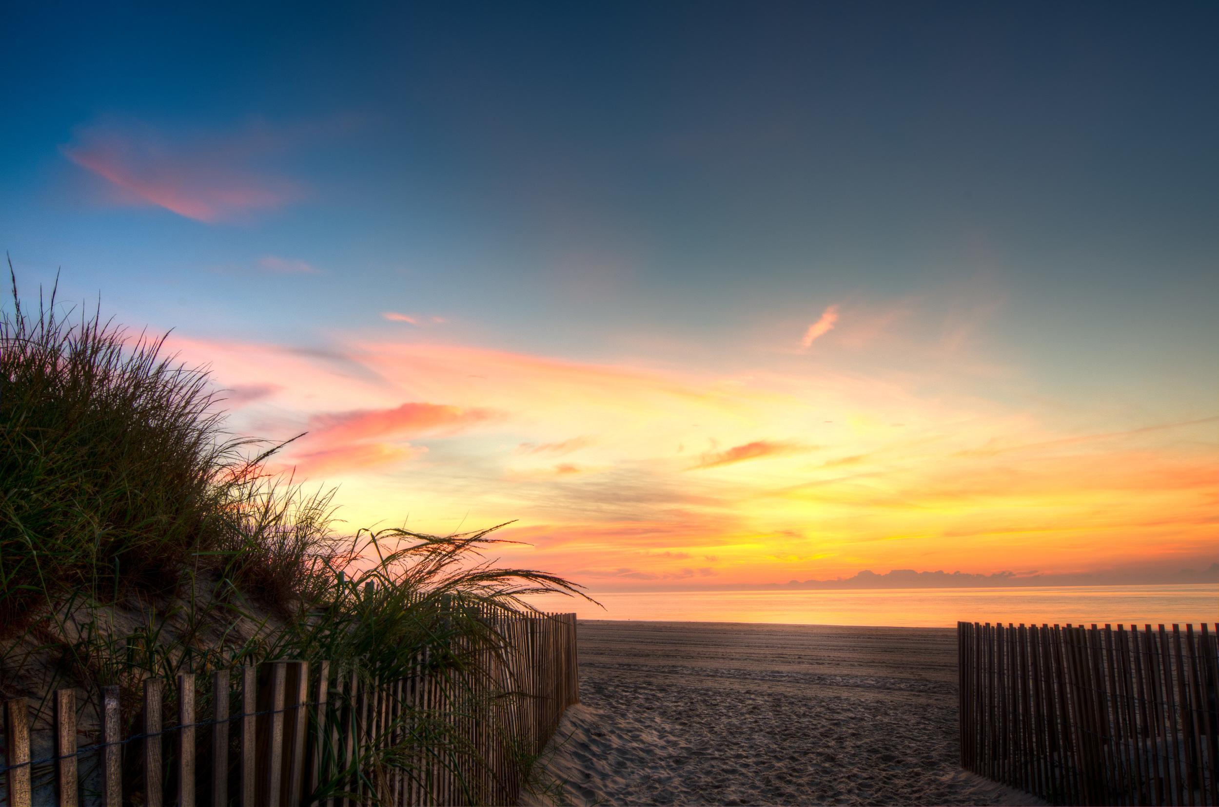 Sunrise in Ocean City Maryland