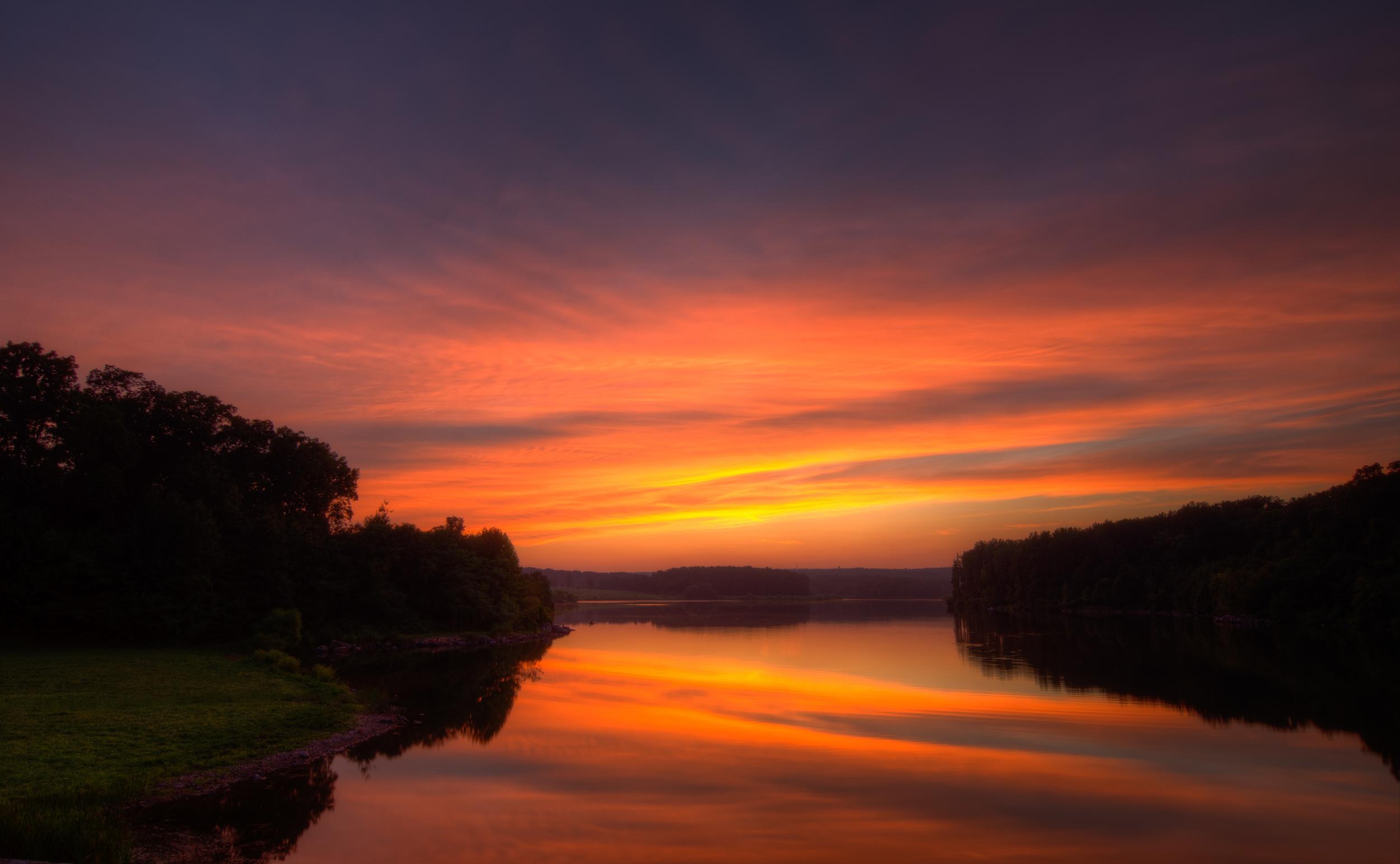 Hibernia Park sunset