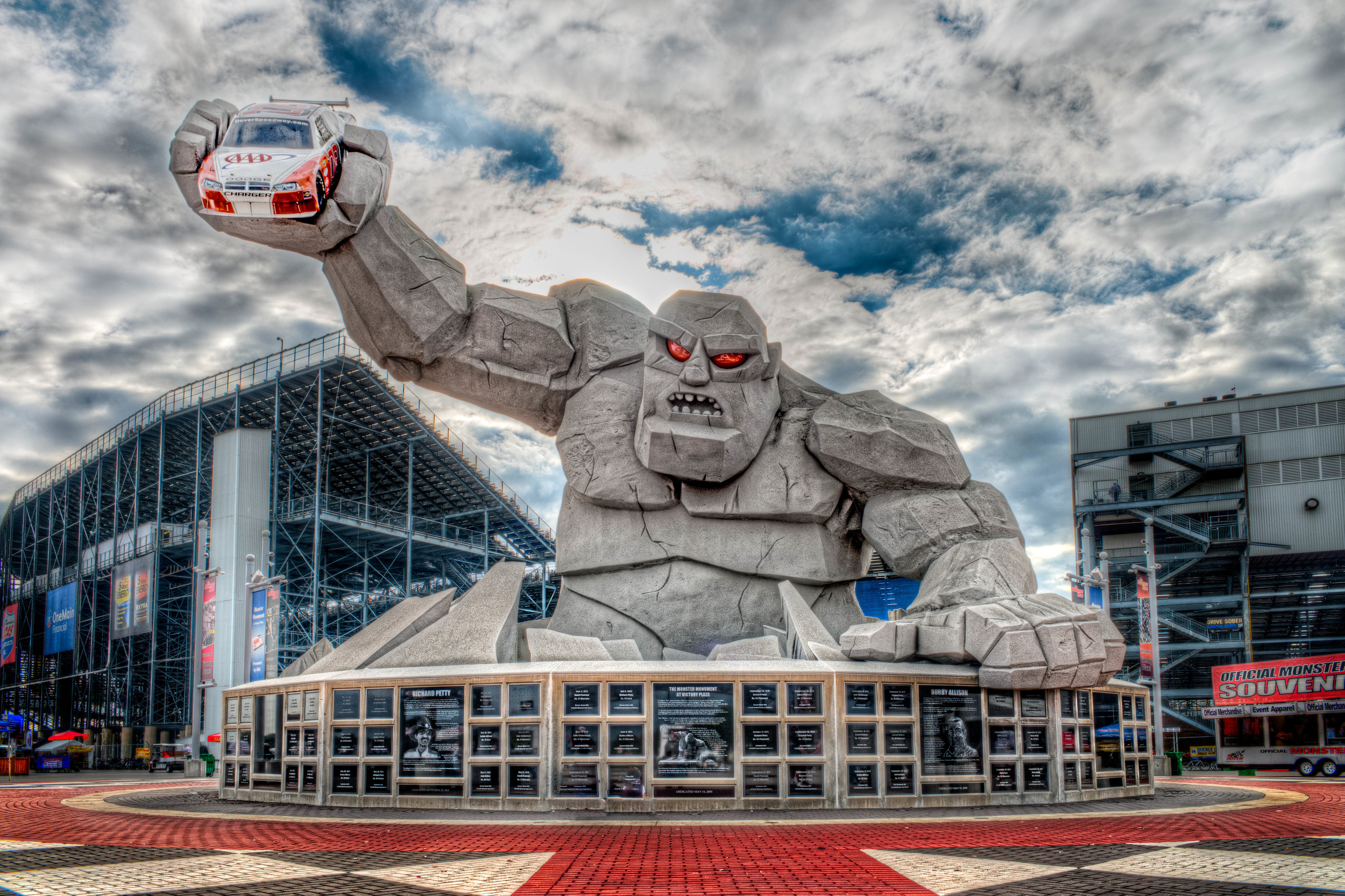 """The """"Monster"""" from Dover International Speedway"""