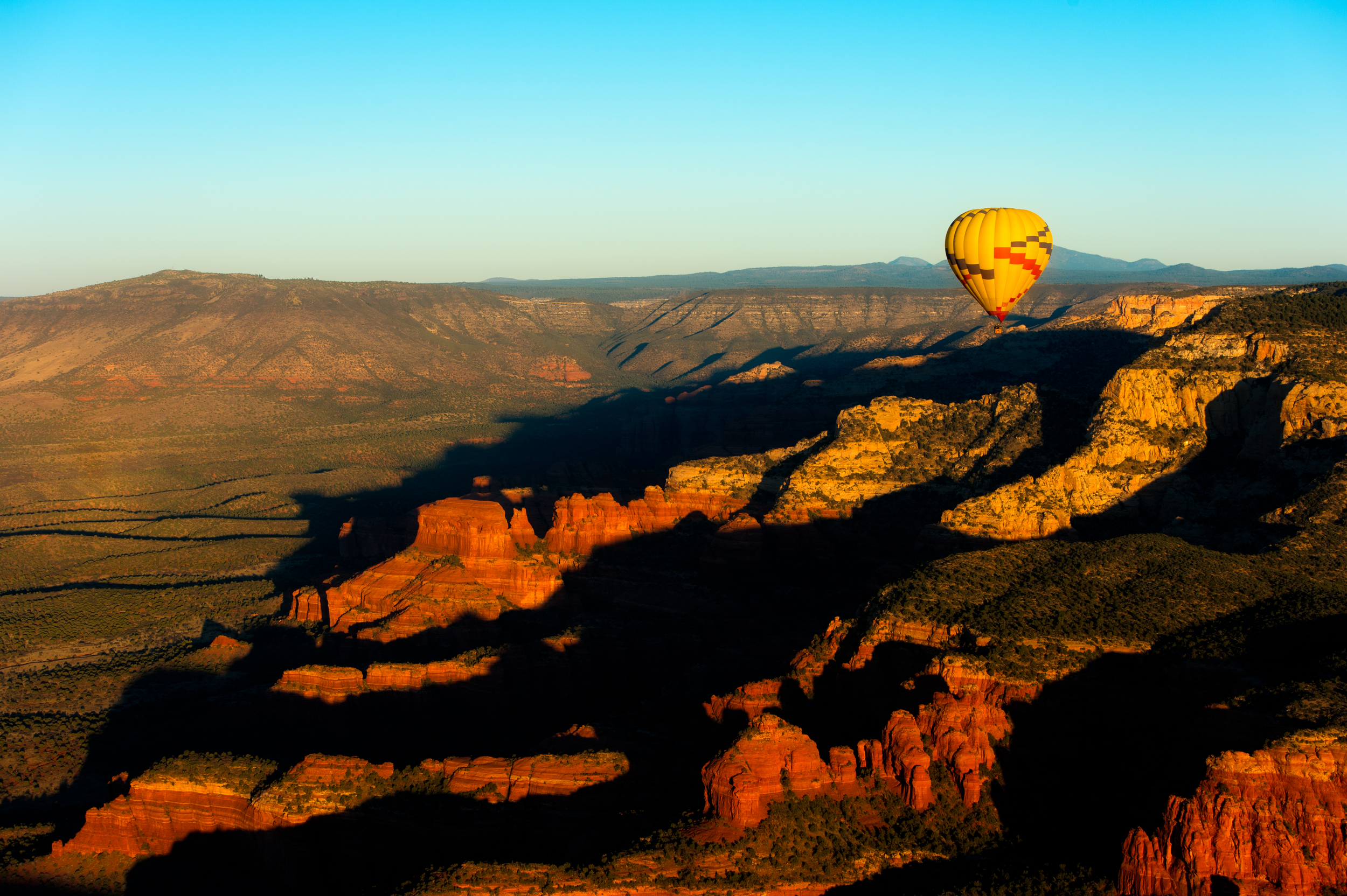 Quite a few balloons were in our view, but they just enhanced and gave scale to the vistas