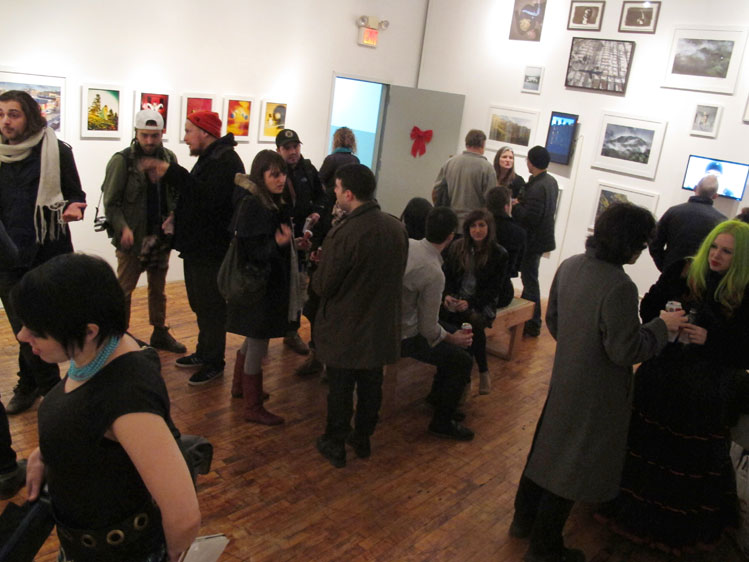 Opening reception 12.20.2012