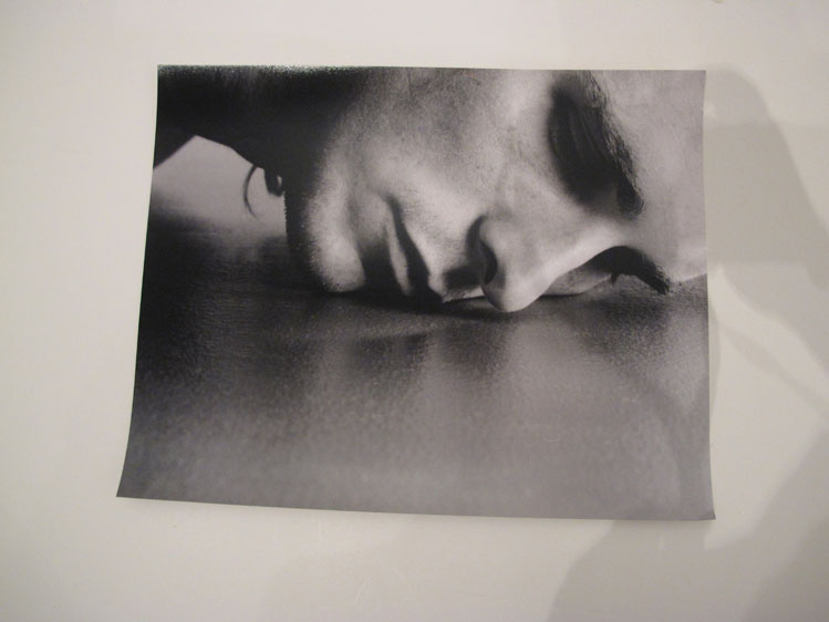 Phil Knott. Christian Bale. Archival silver gelatin print. 11x14 inches
