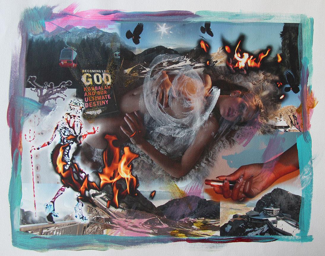 """Becoming Like God #3 (Pilatus Mountain)"