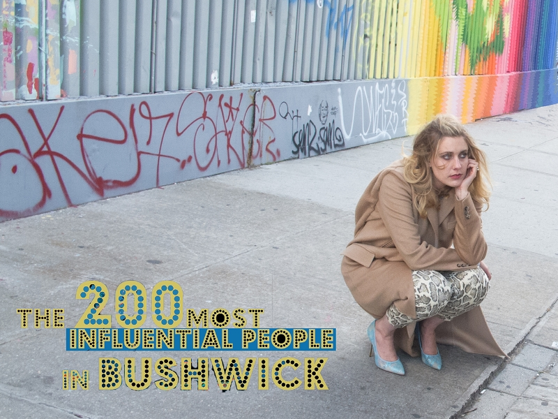 Greta Gerwig _American actress, writer, director photograph by ©RafaelFuchs in Bushwick