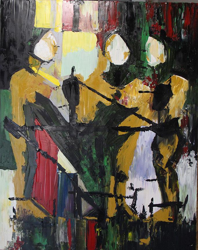 """Moira Ⅵ"" Oil on Canvas 36x48"""