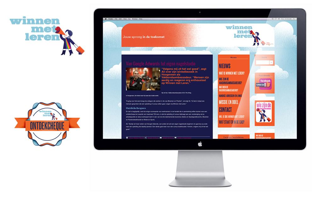 website Winnen met Leren