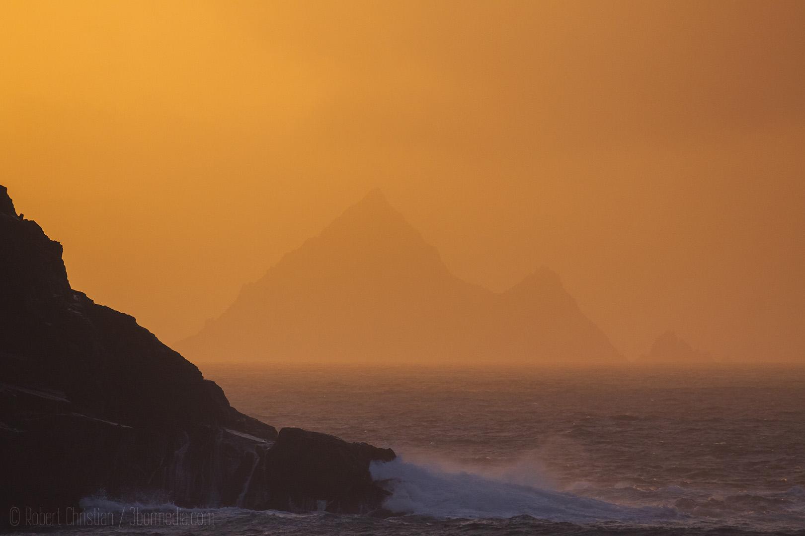 Tearaght Island Sunset