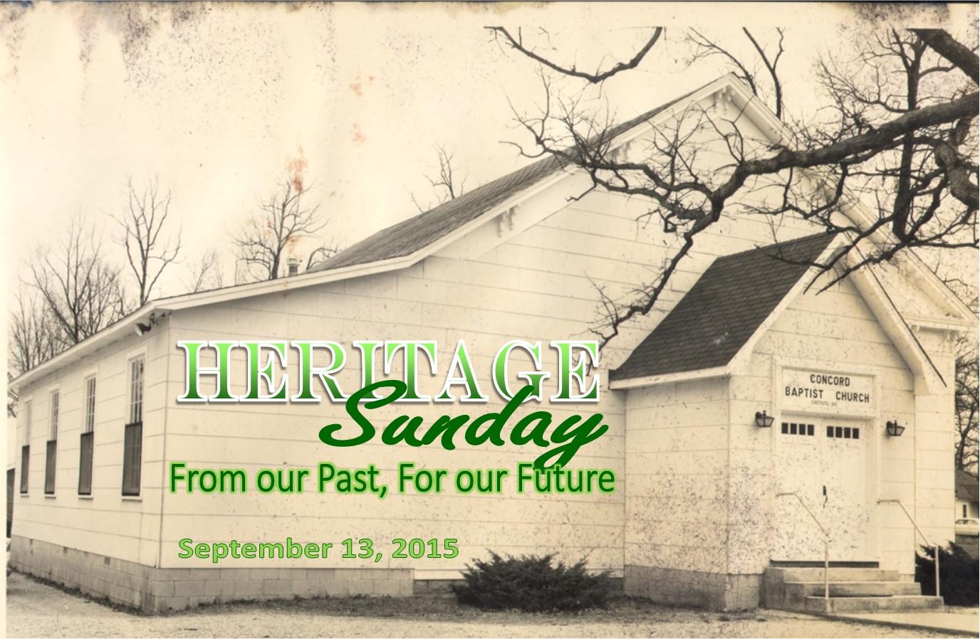 Concord Baptist Church 1960's