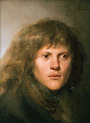 Self Portrait of Jan Lievens (private collection)