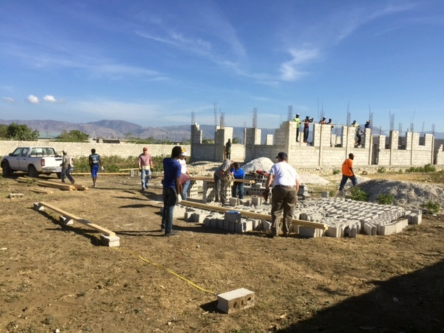 Day 1 Construction: Hurricane Header and Trusses