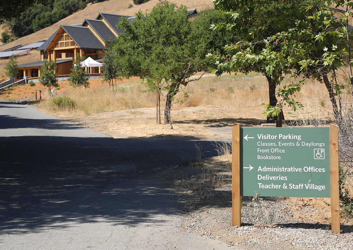 SPIRIT ROCK MEDITATION CENTER  | vehicle way finding
