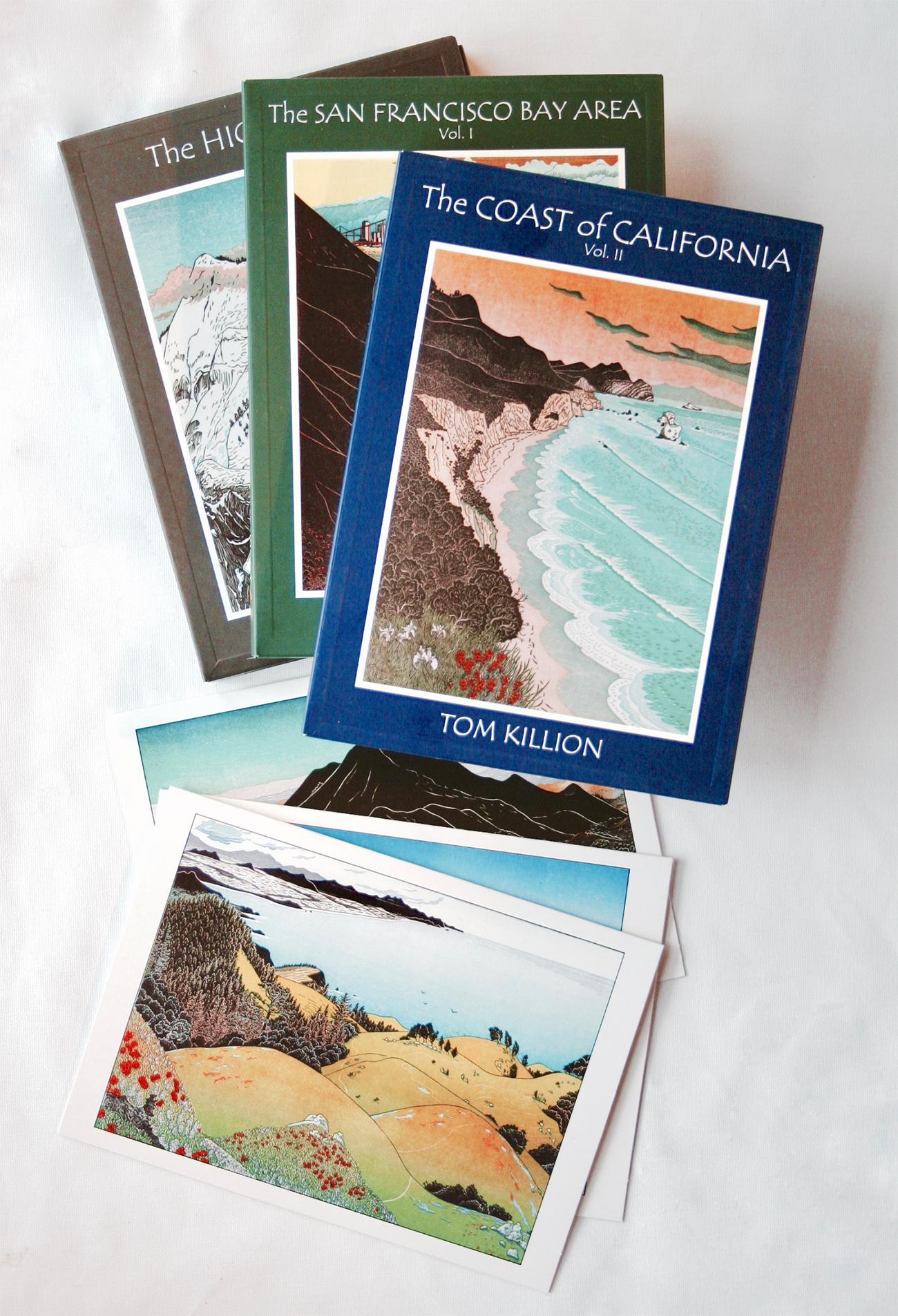 WILD NATURE | art card folios, Tom Killion woodcut prints