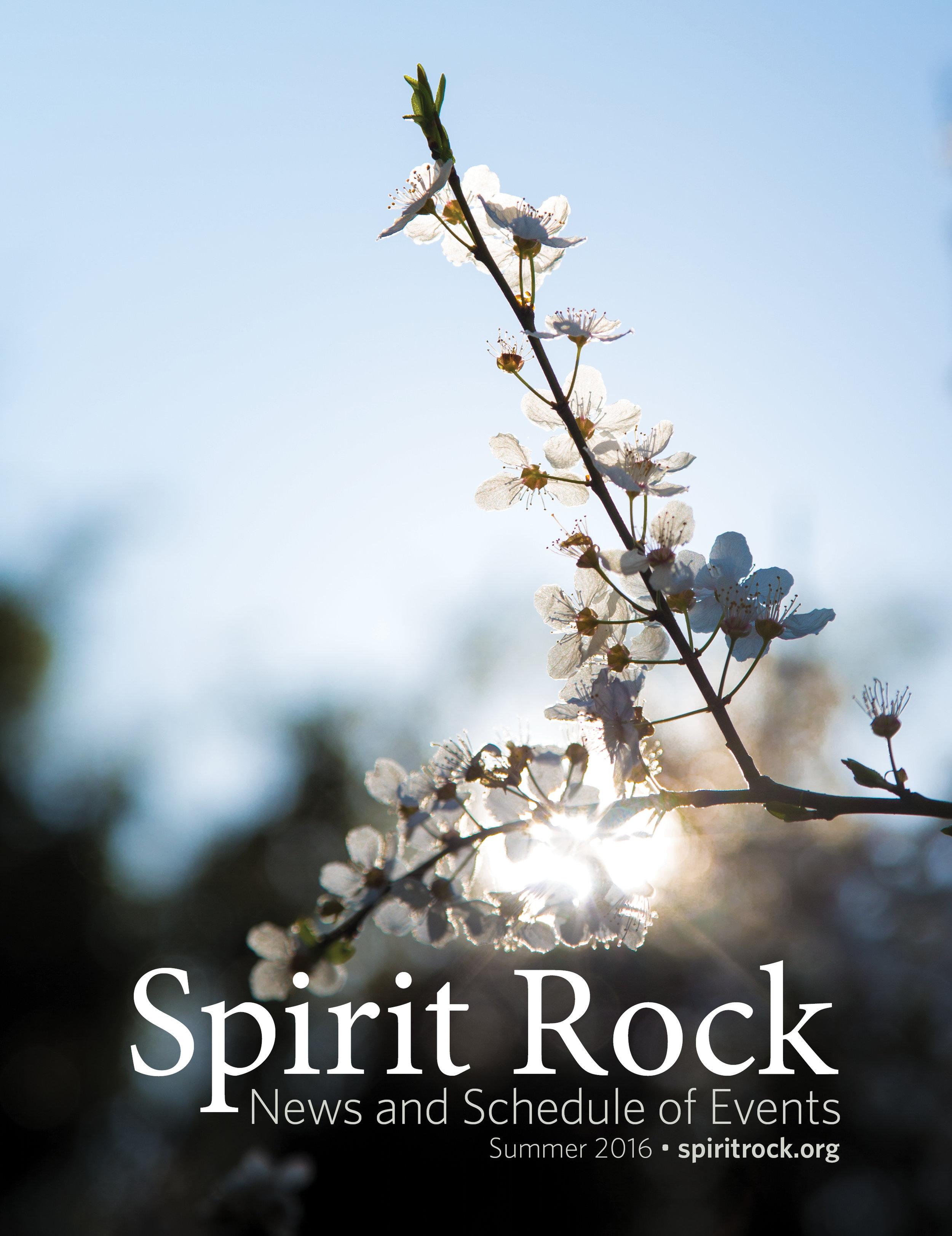 SPIRIT ROCK | triannual 40 pg newsletters