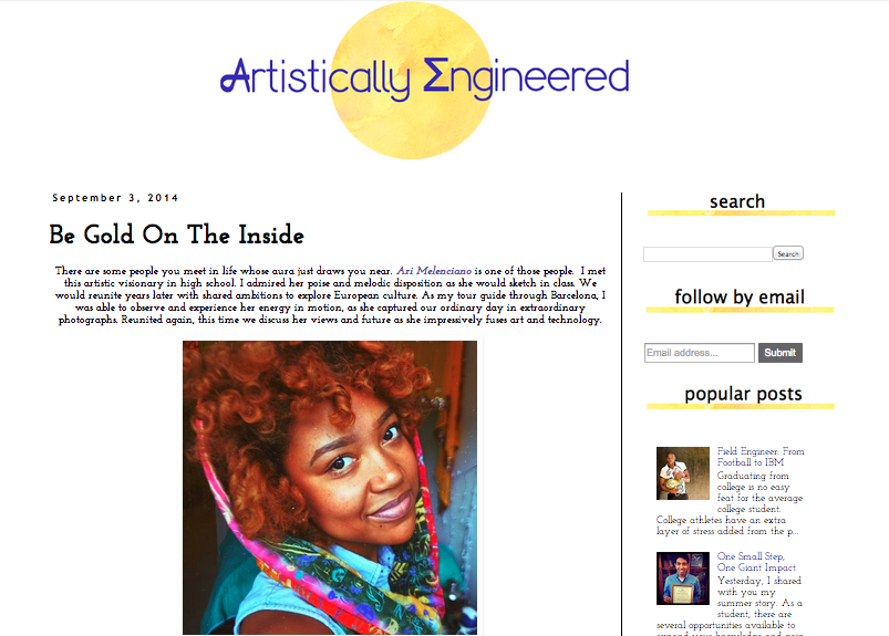 Interview with Artistically Engineered