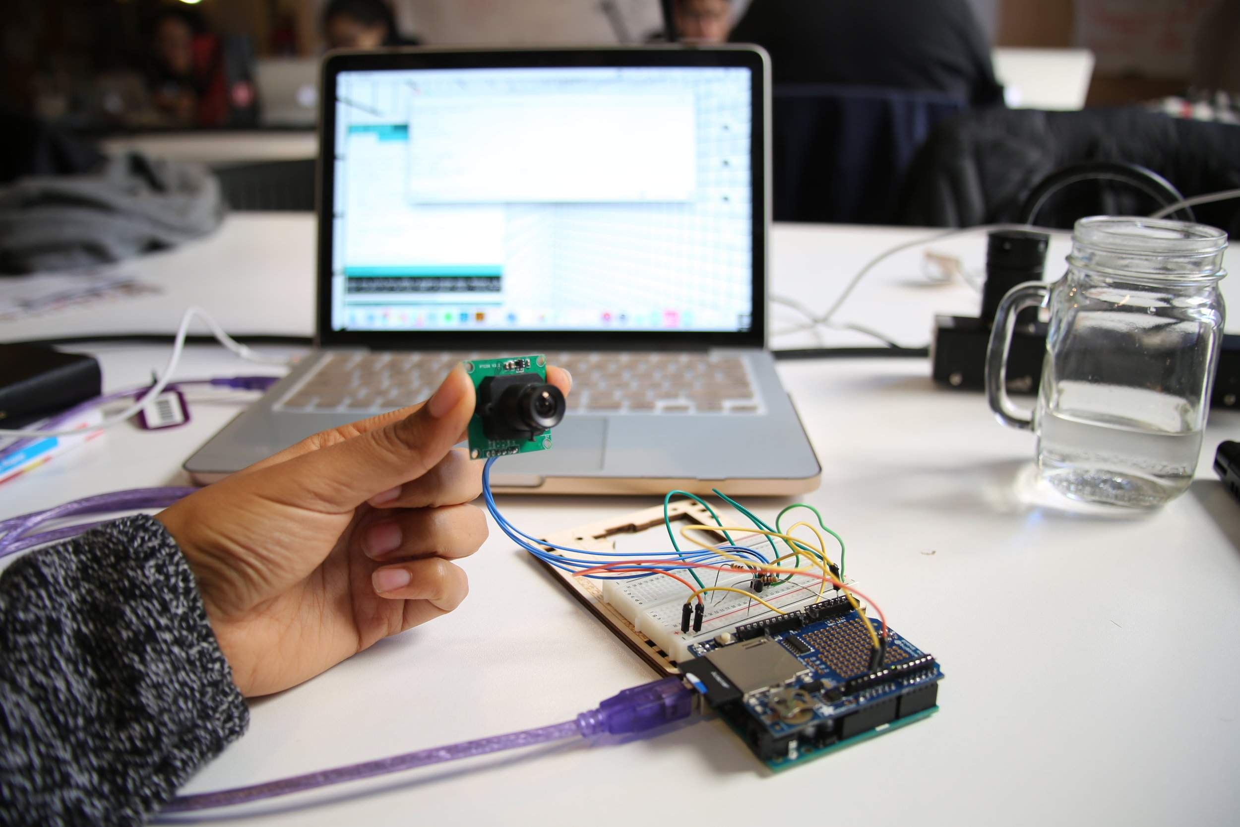 Physical Computing At Itp Labs Electronics