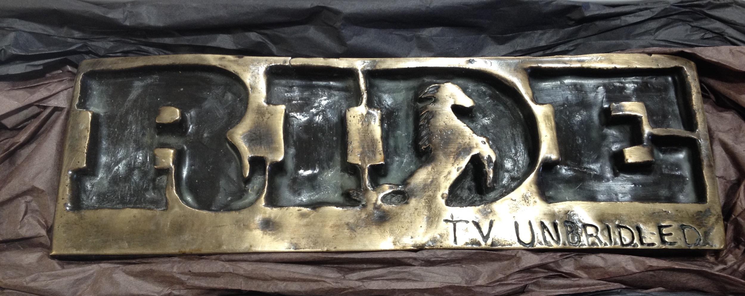 Bronze RIDE Logo