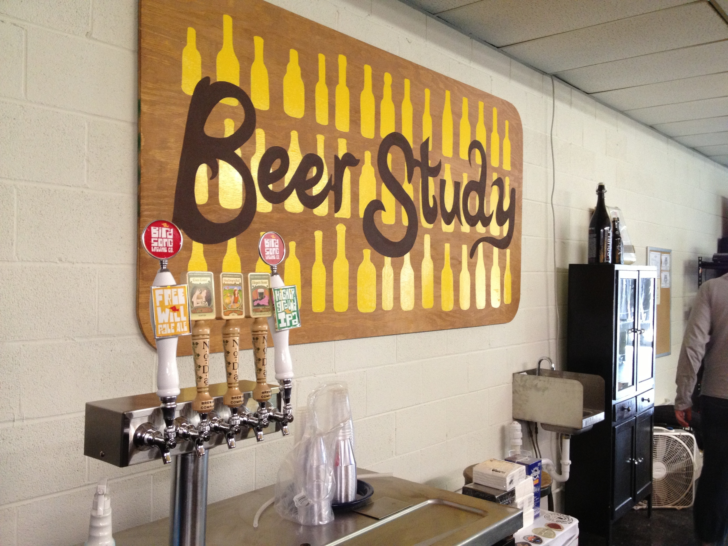 Beer Study Opens on Graham Street