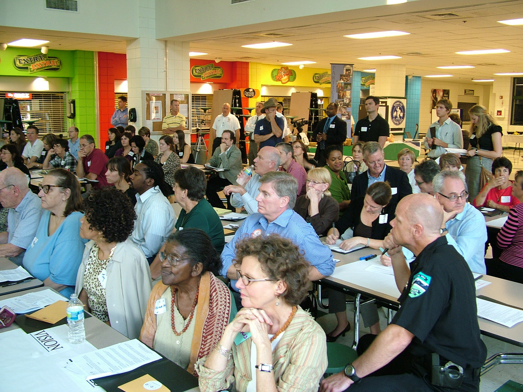 CH 2020 Holds many community meetings