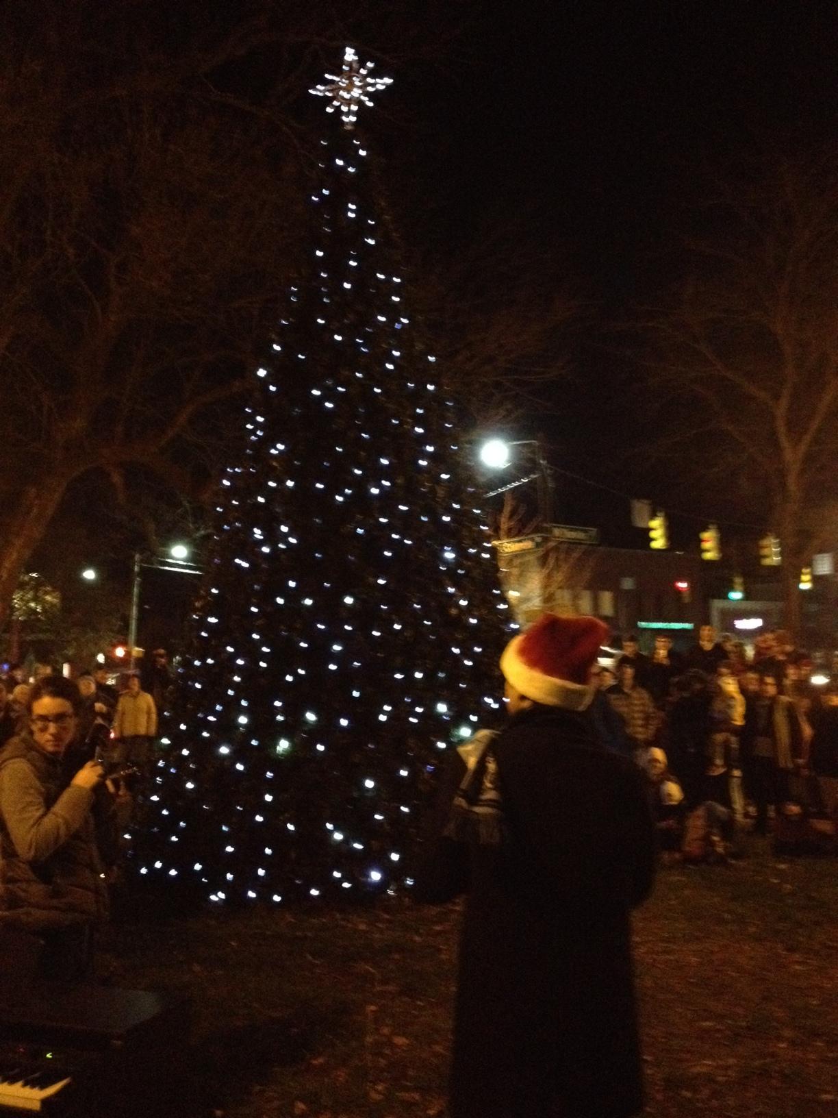 Holiday Tree Lighting!