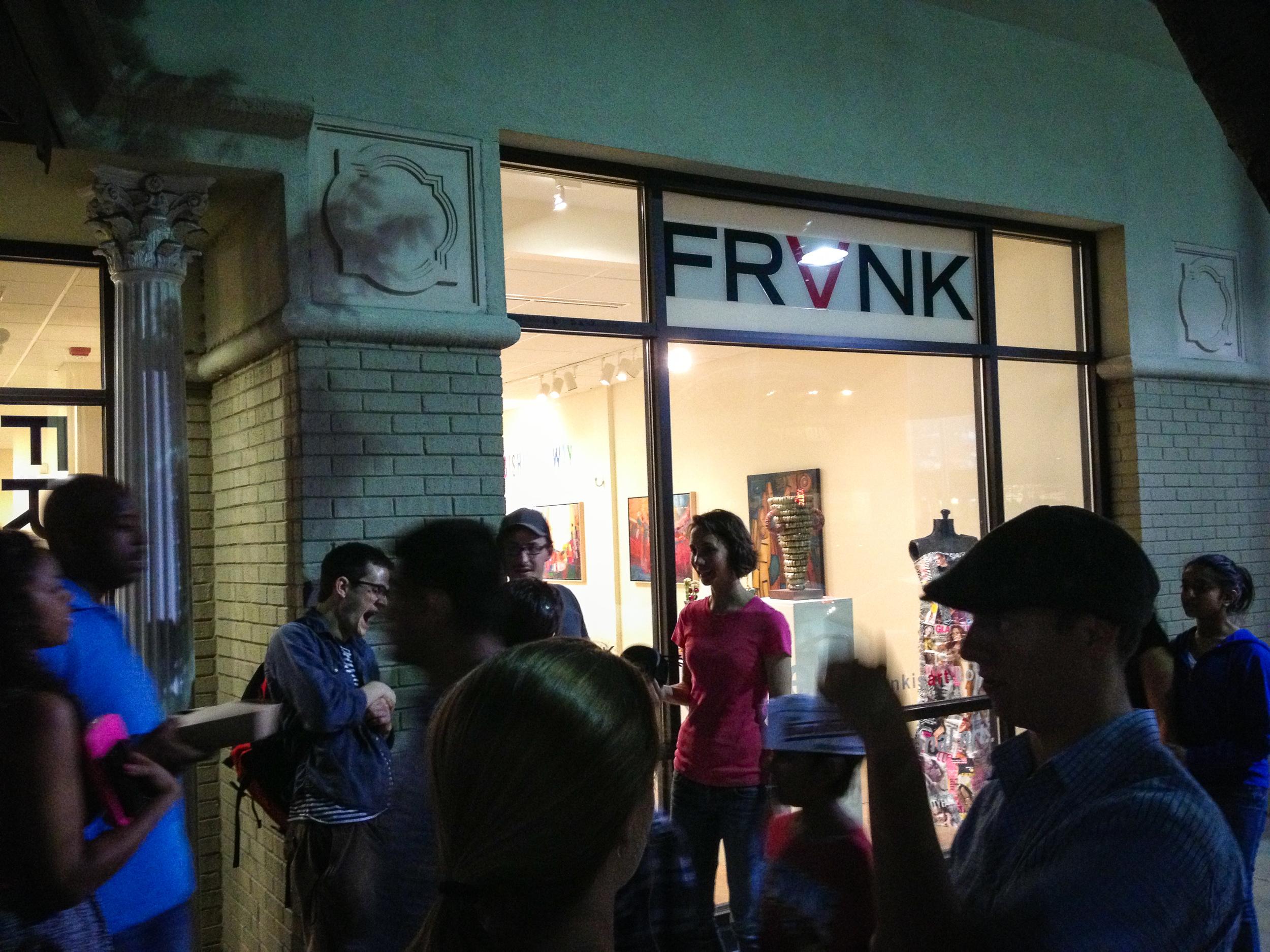 Nightlife on Franklin Street