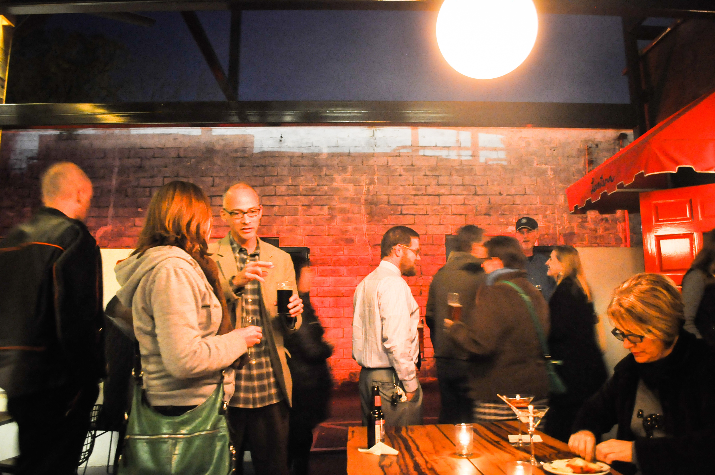 Downtown Social Hour at the newly renovated Lantern Garden