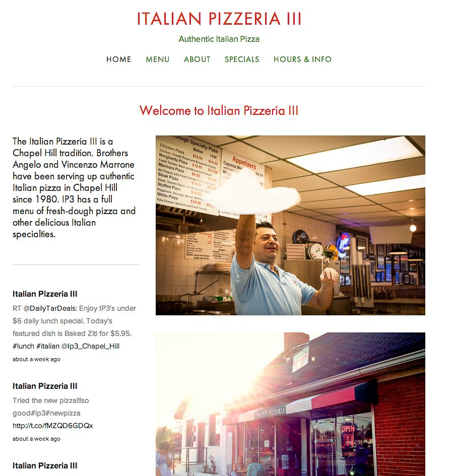 New Website for  IP3