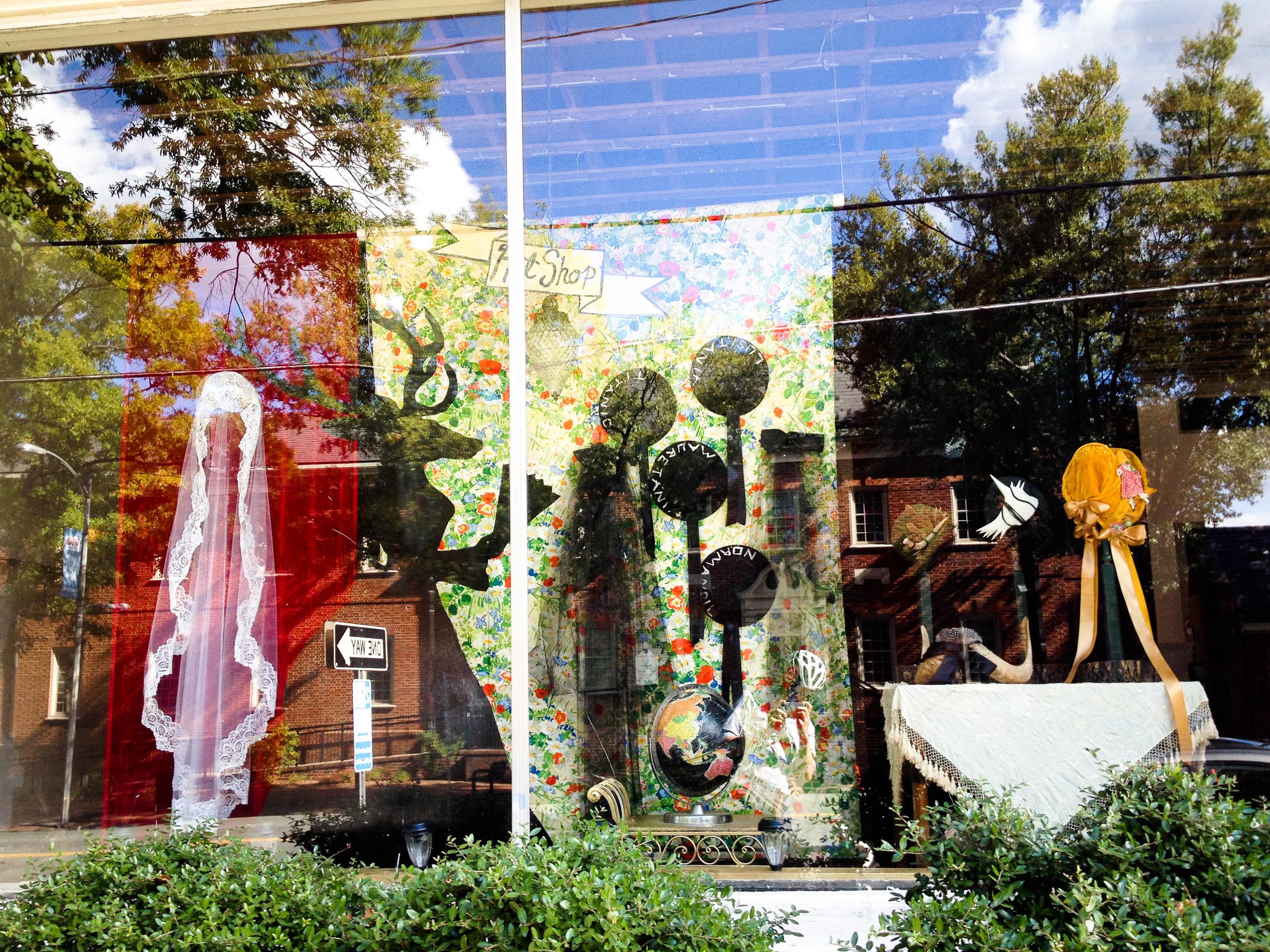 Windows on Chapel Hill Art Installations
