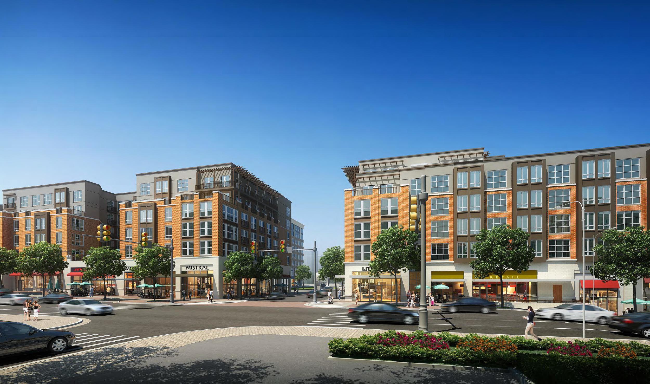Carolina Square rendering.