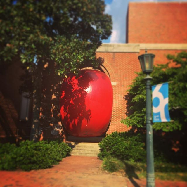 #meetdowntown to celebrate @ackland_art_museum 60th birthday!🎂🎉🎈#redballproject