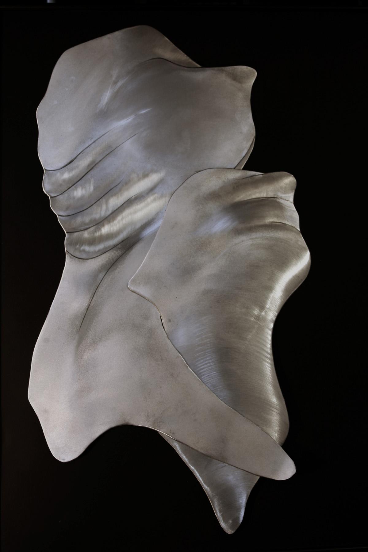 "Herb Rosenberg ""The One Percenters"" Aluminum, 30"" x 40"" x 1/4"", 2013"