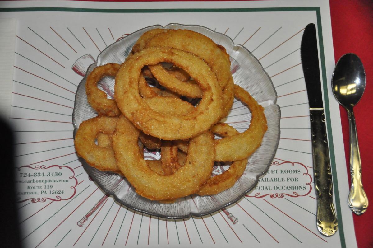 Small Home Made Crispy Onion Rings