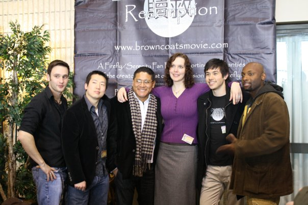 Cast photo at the Farpoint convention