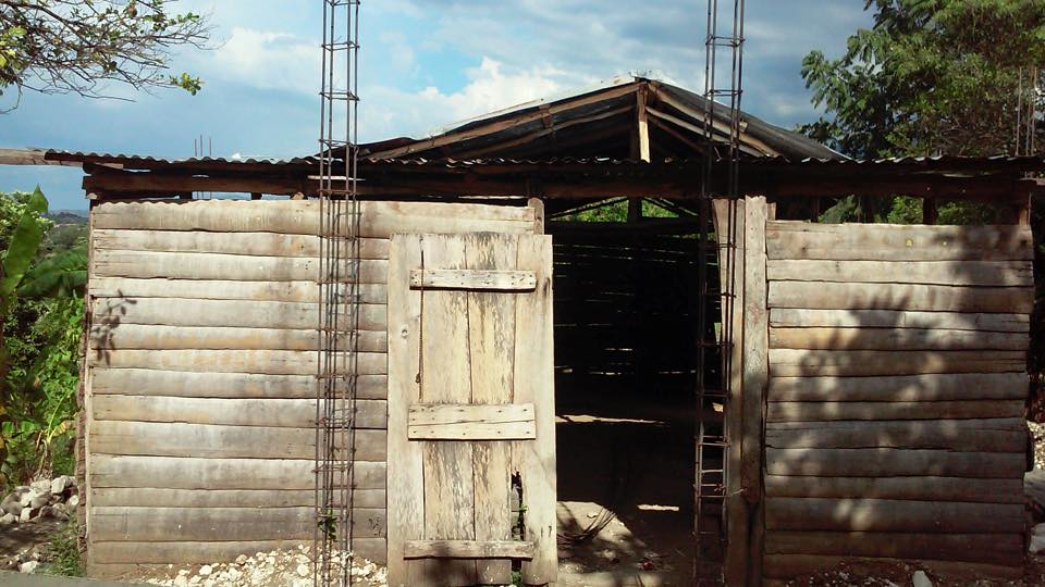 """A """"before"""" picture of the church you helped build with your above and beyond giving to Christ Church's endowment for the education of children overseas."""